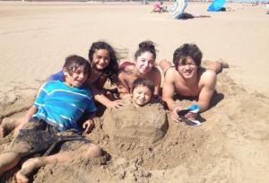 Kristinas børn - Bror, Liv, Fia, Noah og Mio