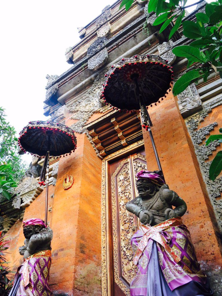 Et af de mange templer