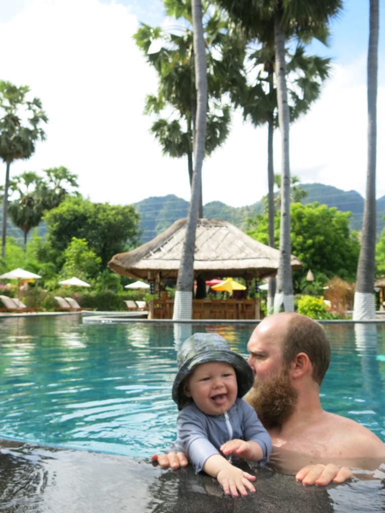 Rejs til Bali med baby