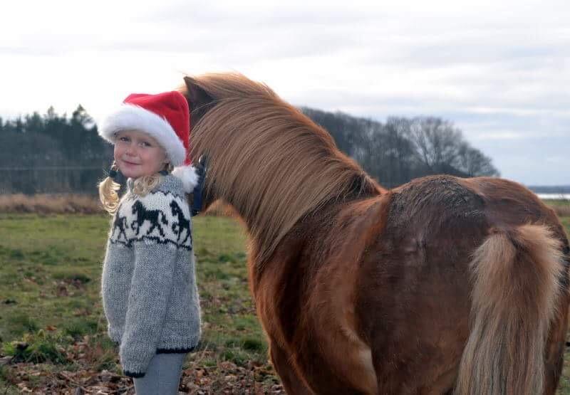 Louises egen datter elsker jul